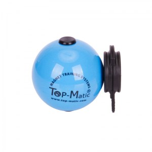 Мяч с магнитом ø6.8 и магнит-клипсой для молодых овчарок «Top-Matic Technic Ball SOFT»