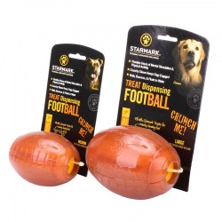 Кормушка «Treat Dispensing Football» large регби для овчарки - TT45